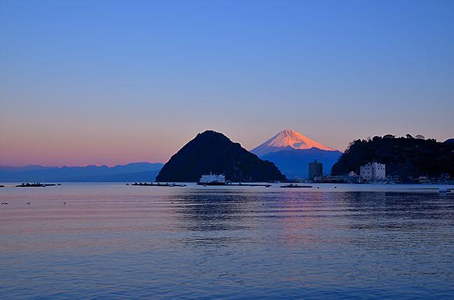 松濤館からの富士山